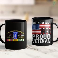 Veterans Donation 173Rd Airborne Brigade Vietnam Veteran Sky Soldier Tee 11Oz 15Oz Black Coffee Mug %tag familyloves.com
