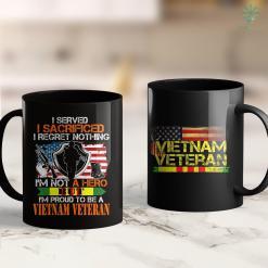 Veterans Of America Proud Im Not A Hero But Im Proud To Be A Vietnam Veteran 11Oz 15Oz Black Coffee Mug %tag familyloves.com