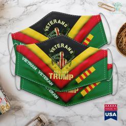 Vietnam National Park Veterans Against Trump 2020 Military Families Vietnam Vets Face Mask Gift %tag familyloves.com