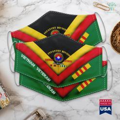 Vietnam Veterans Hats 9Th Infantry Division Vietnam Veteran Old Reliables Face Mask Gift %tag familyloves.com