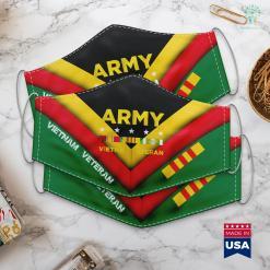 Vietnam Wall Names Mens Vietnam Veteran Army Face Mask Gift %tag familyloves.com