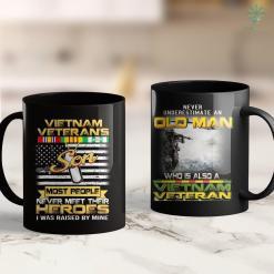Vietnam Era Veteran Vietnam Veterans Son 11Oz 15Oz Black Coffee Mug %tag familyloves.com