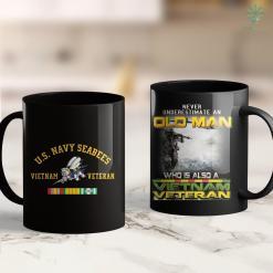 Vietnam Memorial Washington Dc Us Navy Seabees Vietnam Veteran 11Oz 15Oz Black Coffee Mug %tag familyloves.com