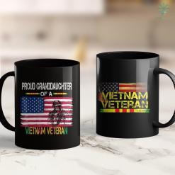 Vietnam Veterans Nominal Roll Proud Granddaughter Of A Vietnam Veteran 11Oz 15Oz Black Coffee Mug %tag familyloves.com