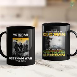 Vietnam Veterans Of America Nj Vietnam War Us Army Veteran S For Men 11Oz 15Oz Black Coffee Mug %tag familyloves.com