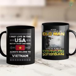 Vets Donation Pick Up Vietnam Veteran Daughter-I Was Raised-By My-Hero- 11Oz 15Oz Black Coffee Mug %tag familyloves.com