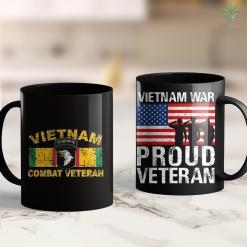 Vietnam Vets Schedule A Pickup 101St Airborne Vietnam Combat Veteran 11Oz 15Oz Black Coffee Mug %tag familyloves.com