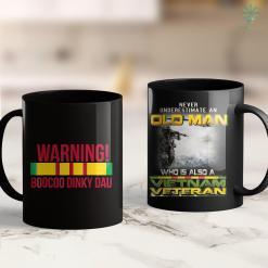 Vietnam Vets Vietnam Veteran Boocoo Dinky Dau Tee 11Oz 15Oz Black Coffee Mug %tag familyloves.com