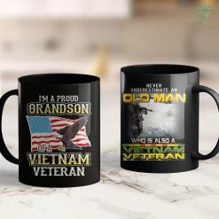 Vietnam War Memorial Washington Dc Vietnam Veteran - Army - Old Man Vietnam Veteran 11Oz 15Oz Black Coffee Mug %tag familyloves.com