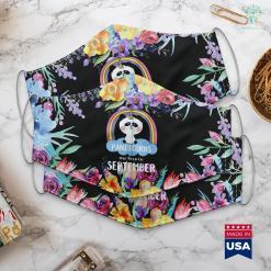 Virgo Bday Unicorn Panda Pandicorns Are Born In September Face Mask Gift %tag familyloves.com