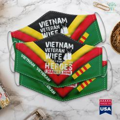 Vva Pickup Vietnam Veteran Wife Face Mask Gift %tag familyloves.com