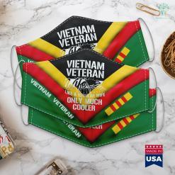 Vvapickup Vietnam War Veteran Wife Only Cooler Military Soldier Vet Face Mask Gift %tag familyloves.com