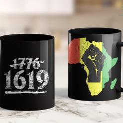 Who Funds Black Lives Matter Project 1619 (The Original) Black History Month Kwanzaa Gift 11Oz 15Oz Black Mug %tag familyloves.com