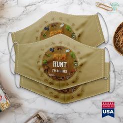 Bass Pro Shop Ashland Hunters Plans. Funny Hunting Retirement Gag Gift Idea. Cloth Face Mask Gift %tag familyloves.com