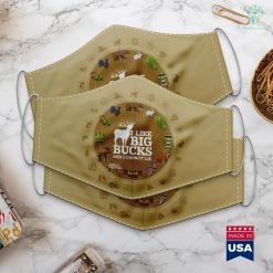 Bass Pro Shop Richmond Va I Like Big Bucks And I Cannot Lie Deer Hunting Cloth Face Mask Gift %tag familyloves.com