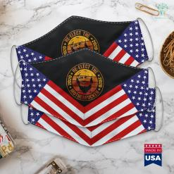 Donald Trump Imdb Vintage Re-Elect The Motherfucker 2020 Pro Trump Cloth Face Mask Gift %tag familyloves.com