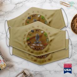 Monster Hunter World Hunting Horn Guide I Will Find You Morel Mushroom Hunting Funny Cloth Face Mask Gift %tag familyloves.com