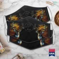 Ms Hunting Season Primitive Bow Hunting Archery Bow Hunter Gift Cloth Face Mask Gift %tag familyloves.com