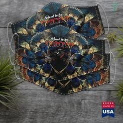 Native American Women Names Proud To Be Choctaw Native American Cloth Face Mask Gift %tag familyloves.com