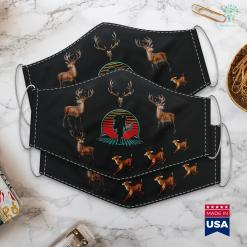 Ny Hunting Forum Bow Hunting Archery Retro Vintage 80S Style Gift Cloth Face Mask Gift %tag familyloves.com