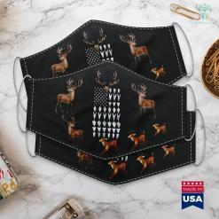 Sawback Hunting Sword Arrowhead Hunting Collector Usa Flag Hunt Hunter Cloth Face Mask Gift %tag familyloves.com