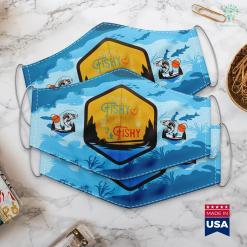 Warframe Orb Vallis Fishing Here Fishy Fishy Fishy Best Humor Fishing Gifts Cloth Face Mask Gift %tag familyloves.com