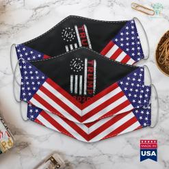 When Was Donald Trump Elected American Flag Design Trump 2020-Trump 2020 Men Women Gift Cloth Face Mask Gift %tag familyloves.com