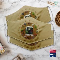 Wisconsin Hunting Season Mens My Favorite Hunting Buddy Calls Me Dad Deer Hunter Cloth Face Mask Gift %tag familyloves.com