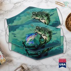 Yakuza 0 Fishing Rainbows Make Me Happy Trout Fishing Men Boys Gift Tee Cloth Face Mask Gift %tag familyloves.com