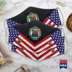 1St Foreign Cavalry Regiment 1Er Regiment Etranger De Cavalerie French Foreign Legion Military Rank Symbols Cloth Face Mask Gift %tag familyloves.com