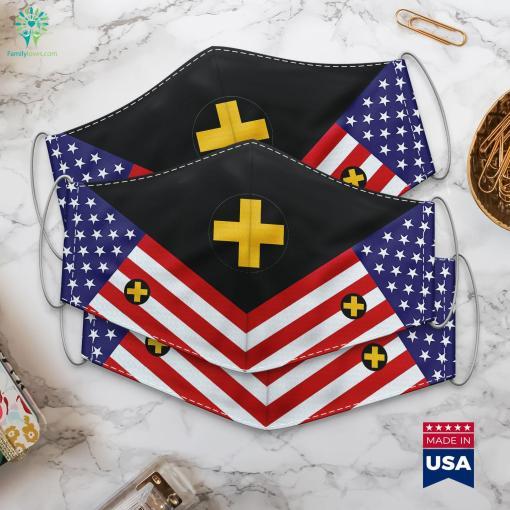 33Rd Infantry Brigade Combat Team United States Military Rank Symbols Cloth Face Mask Gift %tag familyloves.com