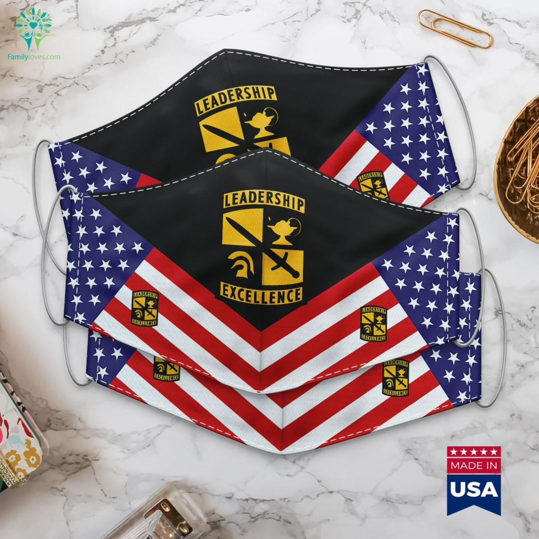 Army Reserve Officers Training Corps Rotc Us Army Uniform Insignia Cloth Face Mask Gift %tag familyloves.com