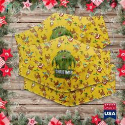 Finding John Christmas Santa S Favorite Trucker Merry Xmas Christmas Cloth Face Mask Gift %tag familyloves.com