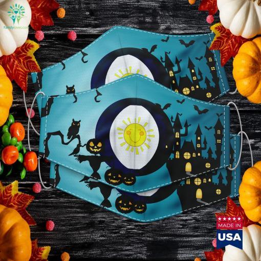 Fun Sunshine Bear Halloween Group Costume Halloween Decoration Ideas Cloth Face Mask Gift %tag familyloves.com