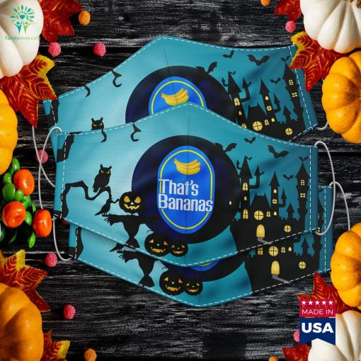 Funny Bananas Thats Bananas Halloween Costume Really Cool Halloween Costumes Cloth Face Mask Gift %tag familyloves.com
