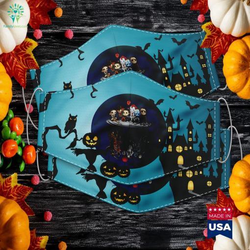 Horror Character Creepy Cute Halloween Ar Gift Halloween Dress Up Cloth Face Mask Gift %tag familyloves.com