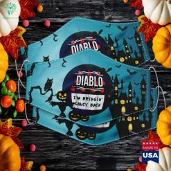 Hot Sauces Group Halloween Costumes Taco Diablo Sauce Halloween Event Names Cloth Face Mask Gift %tag familyloves.com