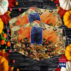 Kawaii Fox Face Costume Easy Halloween Cute Chibi Anime Discount Halloween Costumes Cloth Face Mask Gift %tag familyloves.com