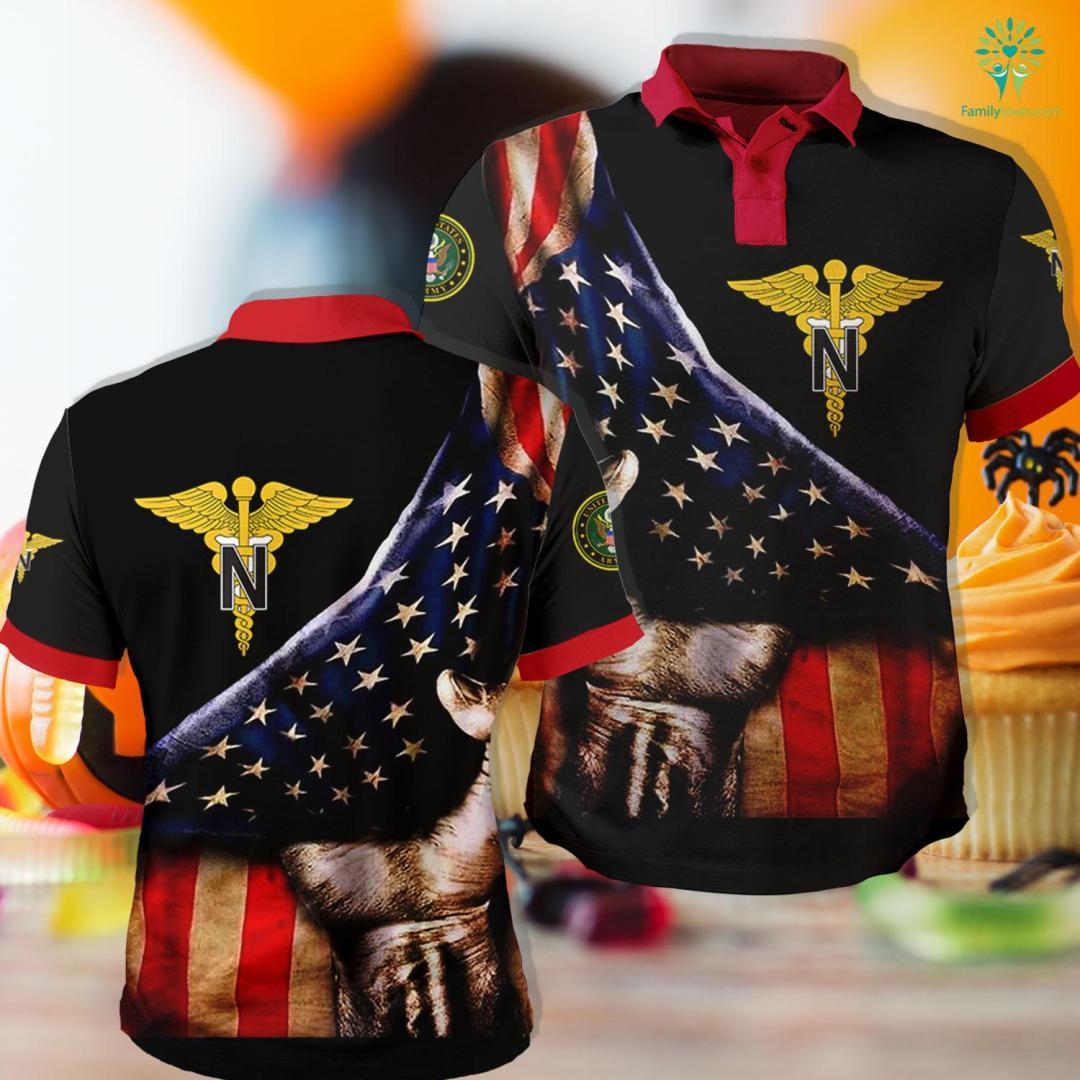 Navy Army Bank Nurse Corps Emblem Polo Shirt All Over Print %tag familyloves.com
