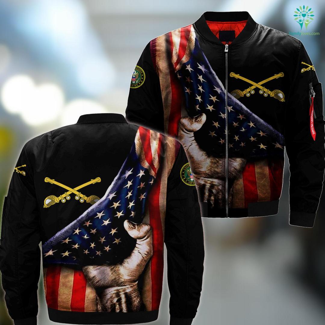 Salvation Army Fort Wayne Cavalry Emblem MA1 Bomber Jacket All Over Print %tag familyloves.com