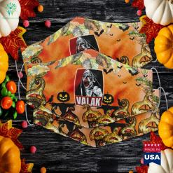 Scary Horror Nun Valak Conjuring Halloween Day Gift Present Halloween Food Cloth Face Mask Gift %tag familyloves.com