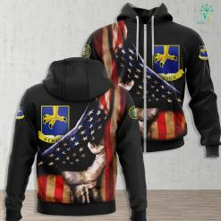 Tn Army National Guard 104Th Infantry Division Ssi Zip-up Hoodie All Over Print %tag familyloves.com