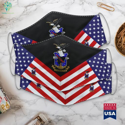 United States Naval Test Pilot School Usntps Lieutenant Colonel Rank Cloth Face Mask Gift %tag familyloves.com