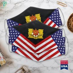 Us Army 10Th Transportation Battalion Dui Navy Veteran Logo Cloth Face Mask Gift %tag familyloves.com