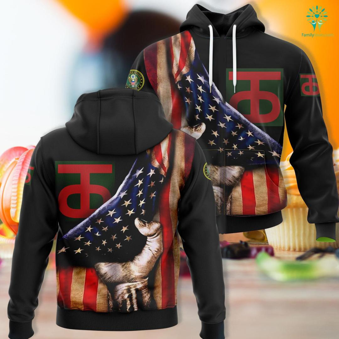 Us Army Air Defense Artillery 90Th Infantry Division Ssi Unisex Hoodie All Over Print %tag familyloves.com