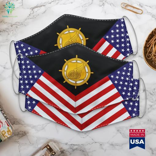 Us Army Transportation Corps Emblem Militarys Cloth Face Mask Gift %tag familyloves.com