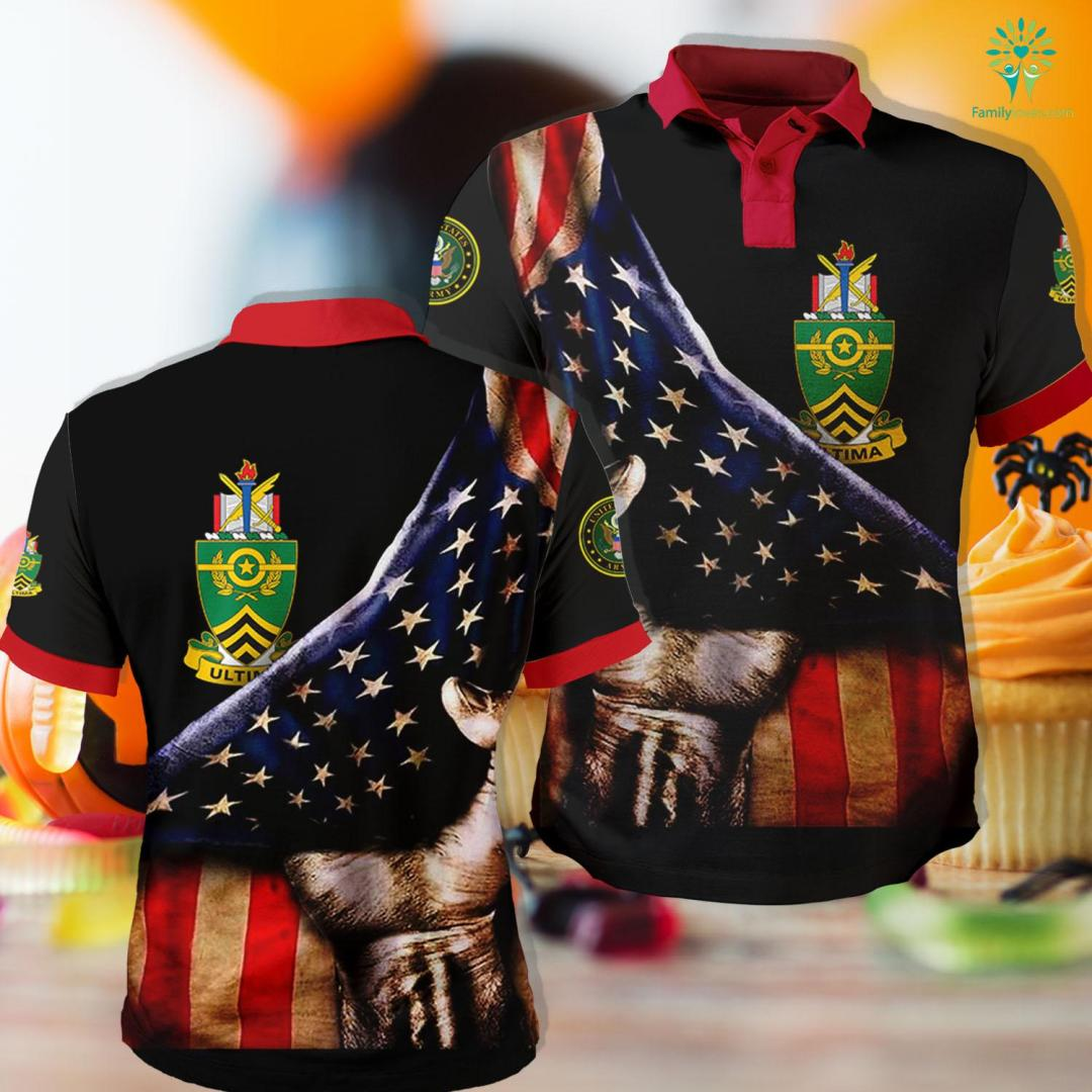 Wwii Us Army Uniform Sergeants Major Academy Coat Of Arms Polo Shirt All Over Print %tag familyloves.com