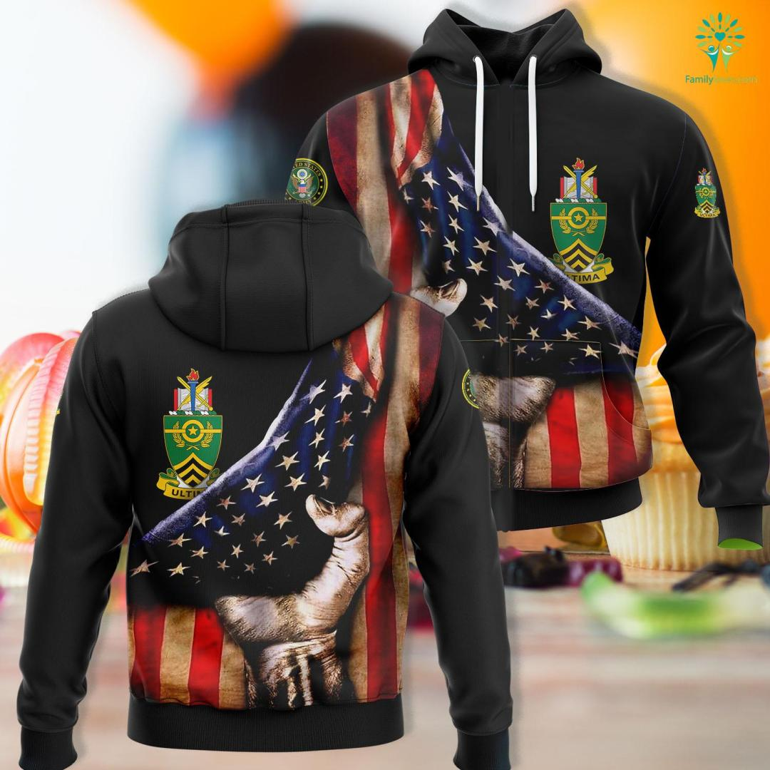 Wwii Us Army Uniform Sergeants Major Academy Coat Of Arms Unisex Hoodie All Over Print %tag familyloves.com