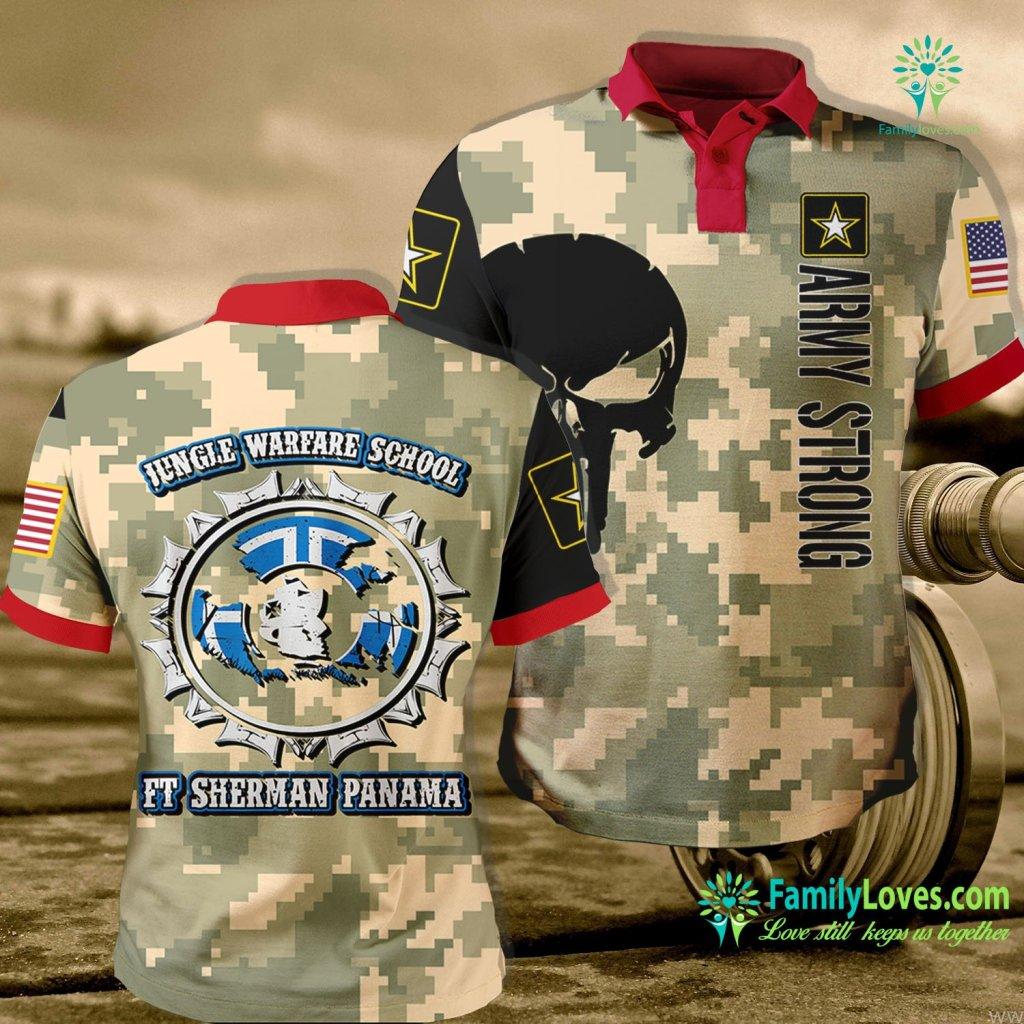 Navy Boot Camp Address Jungle Warfare School Ft Sherman Panama Army Army Polo Shirt All Over Print Familyloves.com