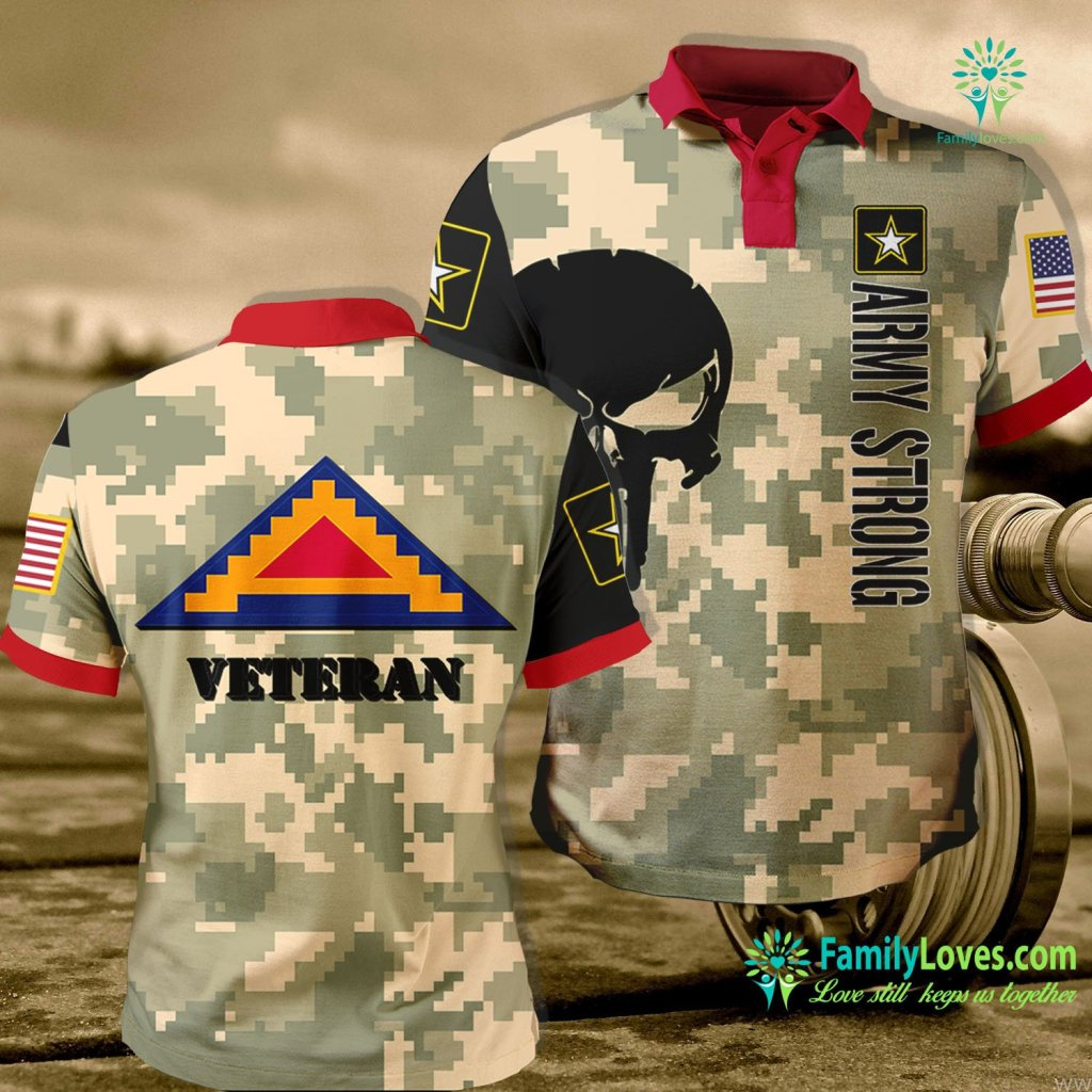 Us Army Polo Shirts 7Th Army Seventh Army Usareur Veteran White Army Polo Shirt All Over Print Familyloves.com
